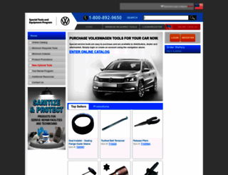 vw.snapon.com screenshot