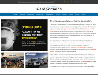 vwcampersales.com screenshot