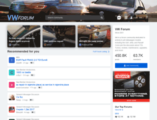 vwforum.com screenshot