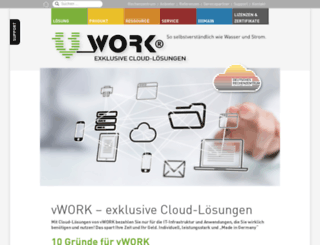 vwork.de screenshot