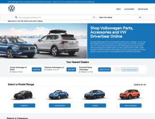 vwparts.com screenshot