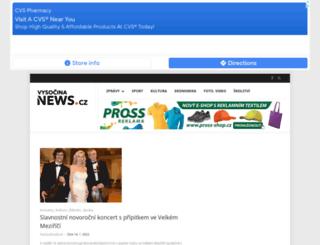 vysocina-news.cz screenshot