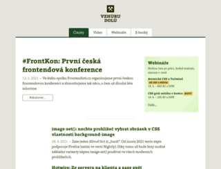 vzhurudolu.cz screenshot