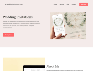 w-weddinginvitations.com screenshot