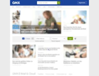 w.gmx.de screenshot