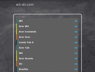 w3-dir.com screenshot