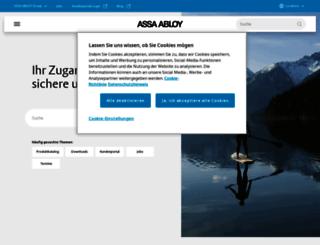 w3.assaabloy.de screenshot