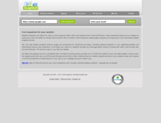 w3snapshot.com screenshot