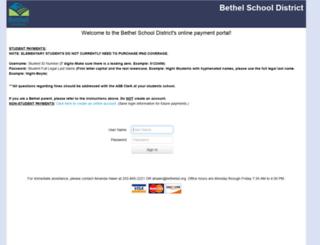 wa-bethel.intouchreceipting.com screenshot