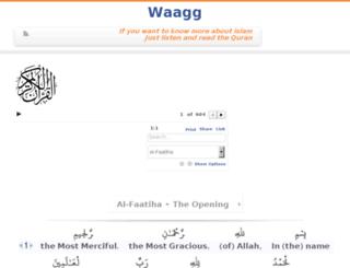 waagg.com screenshot