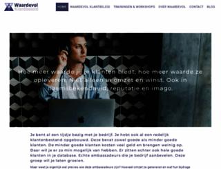 waardevolklantbeleid.com screenshot