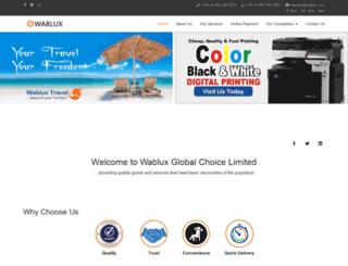 wablux.com screenshot