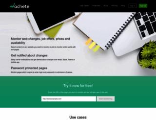 wachete.com screenshot