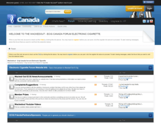 wackedoutecig.ca screenshot