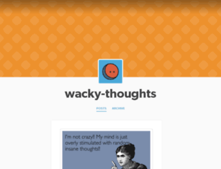 wacky-thoughts.tumblr.com screenshot