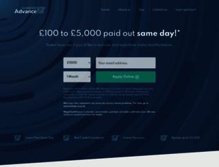 wagedayadvance.co.uk screenshot
