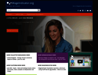 wageindicator.org screenshot