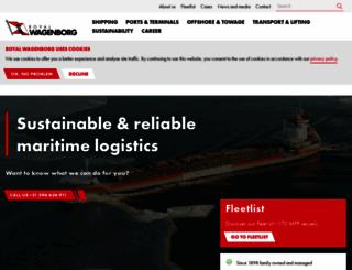 wagenborg.com screenshot