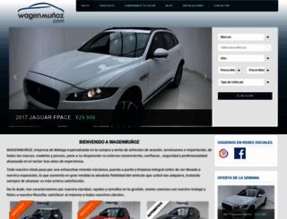 wagenmunoz.com screenshot