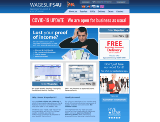 wageslips4u.co.uk screenshot