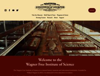 wagnerfreeinstitute.org screenshot