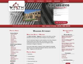wagonerattorney.com screenshot