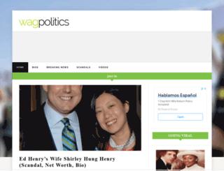 wagpolitics.com screenshot