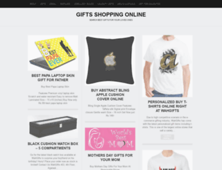 wahgifts.wordpress.com screenshot
