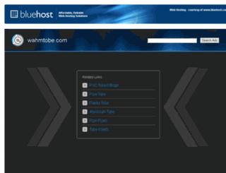 wahmtobe.com screenshot