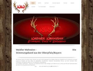 waidler-wahnsinn.de screenshot
