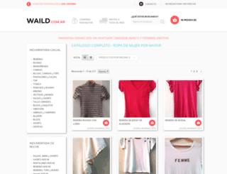 waild.com.ar screenshot