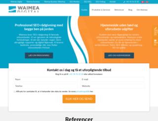 waimea.dk screenshot