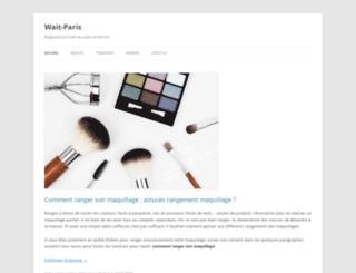 wait-paris.com screenshot
