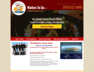 waiterstogo.com screenshot