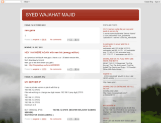 wajahat-cs.blogspot.com screenshot
