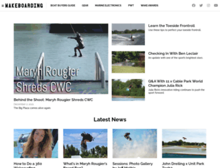 wakeboardingmag.com screenshot