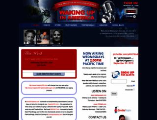 wakingupinamerica.com screenshot