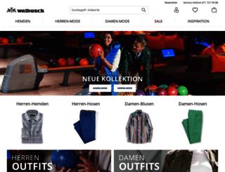 walbusch.ch screenshot