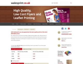 walesprint.com screenshot