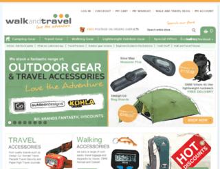 walkandtravel.com screenshot