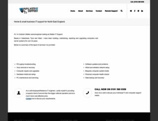 walker-it-support.co.uk screenshot