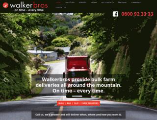 walkerbros.co.nz screenshot