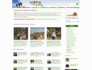 walkingandhiking.co.uk screenshot