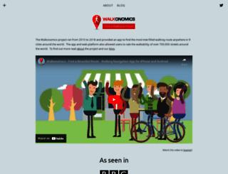 walkonomics.com screenshot