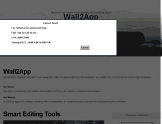 wall2app.com screenshot