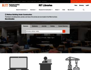 wallacecenter.rit.edu screenshot