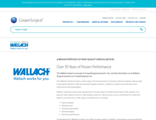 wallachsurgical.com screenshot