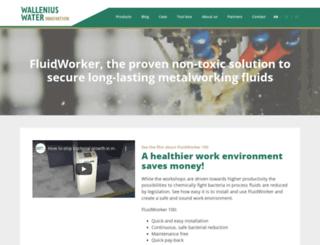 walleniuswater.com screenshot