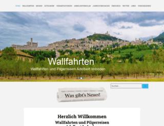 wallfahrten.ch screenshot