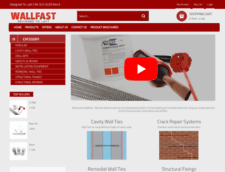 wallfast.co.uk screenshot